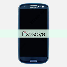 OEM Blue Samsung Galaxy S3 i747 T999 LCD Display Touch Screen Digitizer Frame