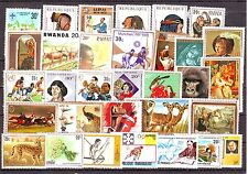 Rwanda(Africa)-50 Diff. MNH Condition Stamps #F99