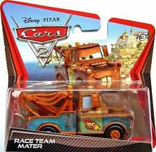 CARS 2 - RACE TEAM MATER - Mattel Disney Pixar