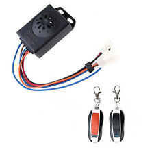 FEYCH Motorcycle Motorbike Scooter Anti-theft Security Remote Alarm Keyless Kits