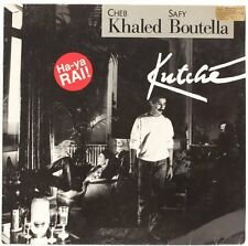 Kutche  Cheb Khaled And Safy Boutella Vinyl Record