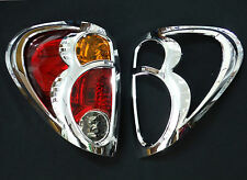 CHROME REAR TAIL LIGHT COVER LAMP MITSUBISHI L200 TRITON 2006-2009 WARRIOR 2010