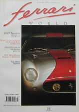 Ferrari World magazine Issue 19 September 250GT Berlinetta, Gilles Villeneuve