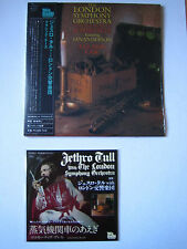JETHRO TULL with LONDON SYMPHONY ORCHESTRA  Japan mini LP CD +bonus CD
