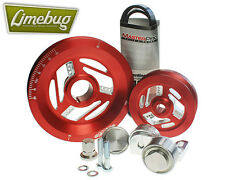 MST RED Tensioned SERPENTINE PULEGGIA KIT SISTEMA VW T1 bus MOTORE Beetle T2 GHIA