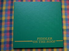 Fiddler On The Roof CD The Opera Line Wallenius Lines