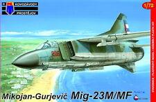 Kovozavody Prostejov 1/72 Mikoyan MiG-23M/MiG-23MF # 7251