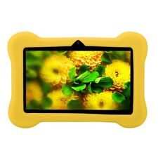 "iRULU 7"" Tablet PC Android 4.4 8GB Quad Core & Dual Cam PAD w/ Protector Case US"