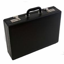 Quality Unisex Executive Faux Leather Business Briefcase Attache/Travel Case 691
