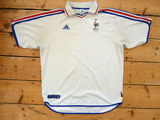 FRANCE FOOTBALL shirt size XL Trikot Maroc Maillot Domicile Jersey Maglia 2000