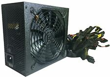 SHARK 1000W 80+ Gaming PC ATX 12V 6-SATA Dual PCIe Silent 120mm Fan Power Supply