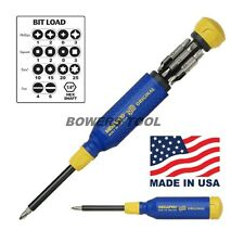 Megapro Original 15 in 1 Milti Bit Screwdriver Phillips Flat Torx Square USA