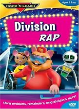 Rock 'N Learn: Division Rap (2007, DVD NEUF)