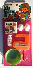 Vtg 1960's Little Hostess Kids Play Toy Cooking Food Utensils Appliances Set NOS