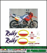 kit adesivi stickers compatibili  tuareg 125 rally 1989
