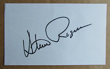 STEVE ROGERS SIGNED AUTOGRAPH 3X5 INDEX CARD 5X ALL-STAR MONTREAL EXPOS 1973-85