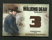 The Walking Dead Season 3 Part 1 Wardrobe Card M17 Chandler Riggs as Carl