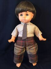 """VINTAGE ENGEL-PUPPEN BOY 19"""" Original Outfit Made In West Germany"""