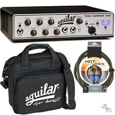 Aguilar Tone Hammer 500 Superlight Bass Amplifier with Bag and Speakon Cable