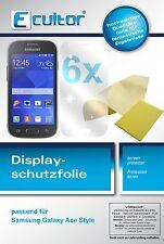 6x Samsung Galaxy Ace Style Film de protection d'écran protecteur cristal clair