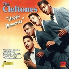 THE CLEFTONES HAPPY MEMORIES IMPORT 2 CD SET