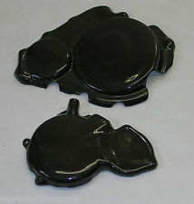 SUZUKI GSXR 600 750 K6 K7 CARBON KEVLAR ENGINE CASE COVERS