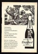 3w20/vecchia pubblicità con loghi circa 1960-il tuo SPUMANTE era Deinhard