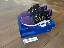 ASICS GEL LYTE III 'PURPLE TOE' BLACK/PURPLE US8.5