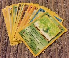 10 rares pokémon première édition trading cards