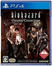 Used PS4 Resident Evil Origins Collection SONY PLAYSTATION 4  JAPANESE  IMPORT