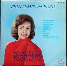 DANIELLE DARRIEUX PRINTEMPS DE PARIS BORIS VIAN : TOI RARE 25CM BIEM PATHE 1102