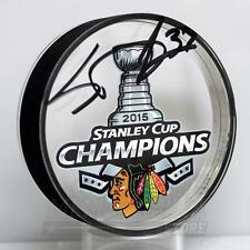 Scott Darling Chicago Blackhawks Signed Autographed Stanley Cup Acrylic Puck