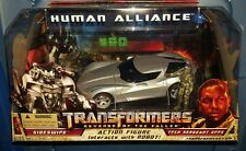 Transformers ROTF Human Alliance Action Figure Sideswipe w Sergeant EFFS MISB