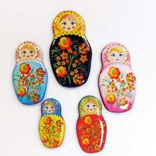 Set Assorted Magnets Matryoshka Russian nesting dolls Fridge Magnet souvenir 27n