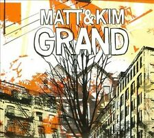 Matt & Kim Grand Digipak CD Good Ol' Fashion Nightmare Cinders Spare Change Rock