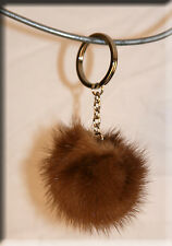 New Pastel Mink Fur Key Chain - Efurs4less