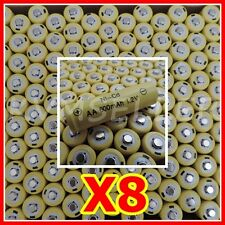 8 AA Rechargeable Batteries NiCd Ni-Cd 600mAh 1.2v Garden Solar  Light A8