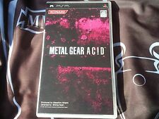 METAL GEAR AC!D (PlayStation Portable/PSP)