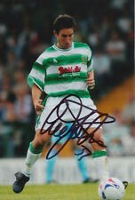 YEOVIL TOWN HAND SIGNED LEE JOHNSON 6X4 PHOTO 1.