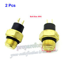 2x RADIATORE VENTOLA THERMAL SENSOR SWITCH HONDA CH125 CH150 CH250 Elite CN250 Helix