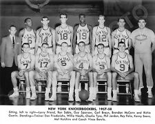 1957-58 NEW YORK KNICKS BASKETBALL 8X10 NBA TEAM PHOTO PICTURE