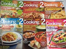 Cooking For 2 Taste Of Home Magazine Lot Of 6 Booklets Comfort Food Casseroles