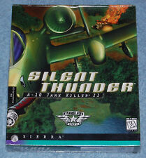 Silent Thunder A-10 Tank Killer 2 PC Game, New & Factory Sealed
