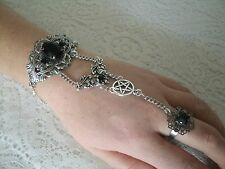 Pentacle Slave Bracelet, wiccan pagan wicca witch pentagram witchcraft goddess