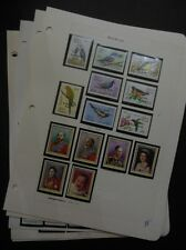 BARBUDA : Beautiful collection. All VF MNH. Birds, Royalty. Scott Catalog $222.