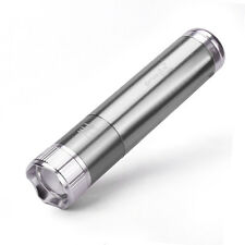 Silver 2000 Lumens 3 Modes Penlight co CREE XPE LED AAA Flashlight Torch Lamp