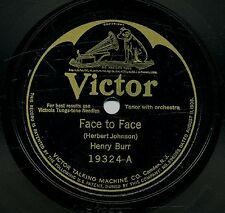 Henry Burr / Charles Harrison / Clifford Cairns 78 RPM - Victor