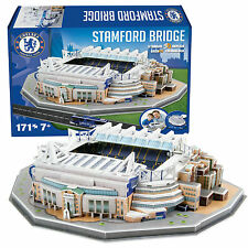 Chelsea Stamford Bridge Football Stadium 3D Jigsaw Puzzle 171 Pieces