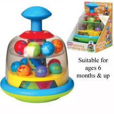Funtime Baby Toddler Spinning Top Balls Popping Toy Gift Activity Pal New