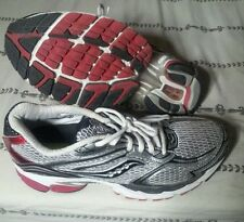 Saucony ProGrid Guide 4 Mens Running Walking Shoes Red/Silver/Black .(C3B3).....
